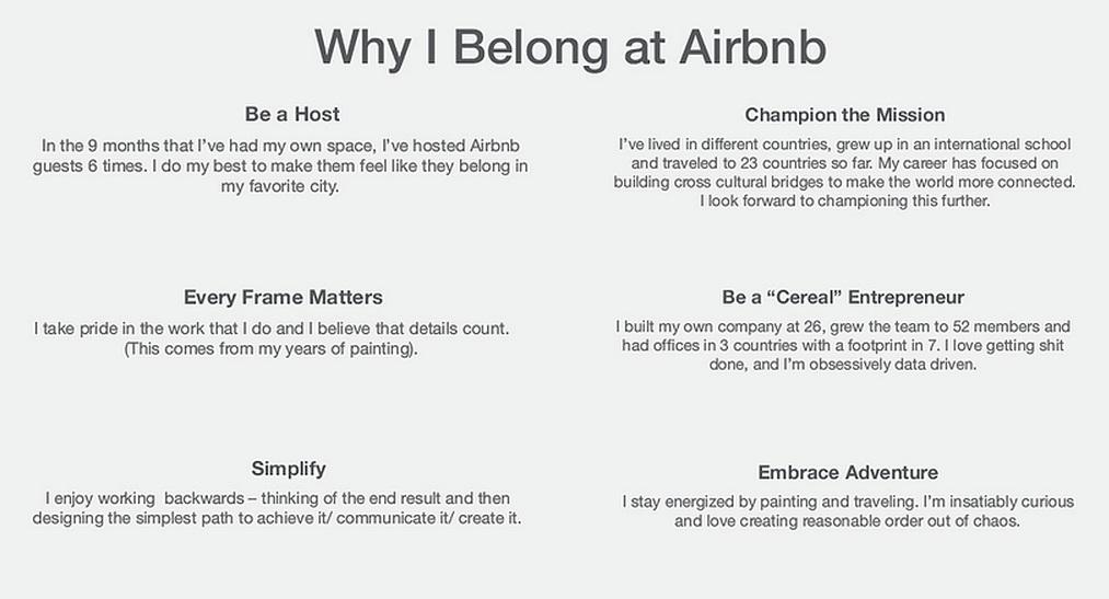 כותב טוב - הרזומה שהפיל את חברת Airbnb מהרגליים