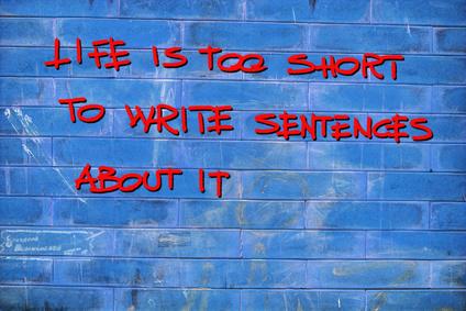 כותב טוב - קיצור משפטים